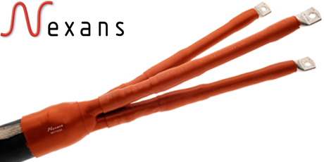 Three Core Heat Shrink Indoor Terminations for XLPE Cables up to 36kV