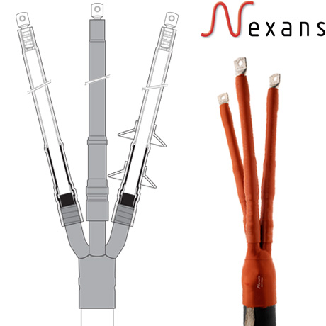 22kV Heat Shrink Cable Terminations - Three Core XLPE Indoor