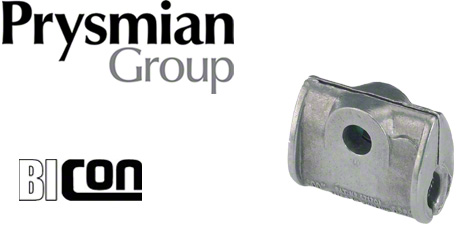 Prysmian Bicon Fire Resistant Cable Cleats for Single Cables (Galvanised Iron)