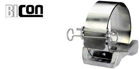 Bicon Cable Cleats - Aluminium Multicleats for Single Cables 36mm-120mm