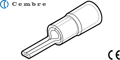 Cembre Cable Lugs, Insulated Pin Crimp Terminals and Connectors