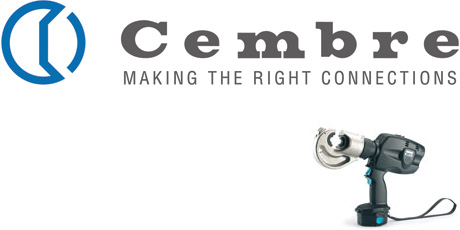 Crimp Tools, Hydraulic Crimping Tool, Battery Rechargeable, Cembre B135-C