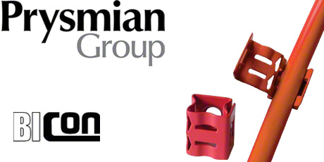 Prysmian Fire Resistant Cable Clips for Fixing FP200 Gold and FP Plus Cables (Single)