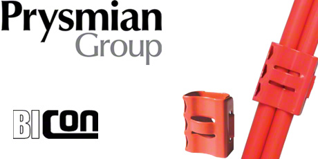 Prysmian Fire Resistant Cable Clips for FP200 Gold and FP Plus Cables (Double)