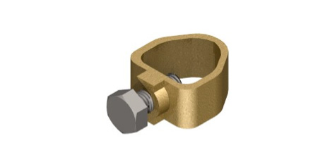 Rod to Tape Earth Clamps, A Type