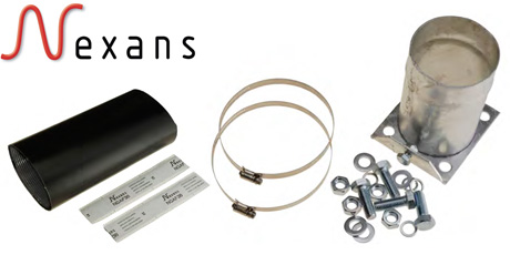Nexans Heat Shrink Top Hat Cable Glands