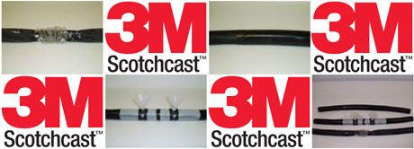 3M Scotchcast Resin Cable Repair Kits