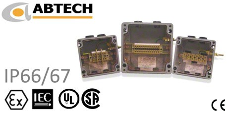 Abtech GRP Assembled Enclosures and Junction Boxes