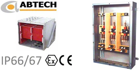 Abtech High Voltage Enclosures, Junction Boxes and Busbar Solutions