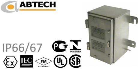 Abtech Stainless Steel and Mild Steel Junction Boxes