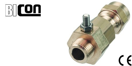Bicon CW Brass Cable Glands with Integral Earth for SWA Cables