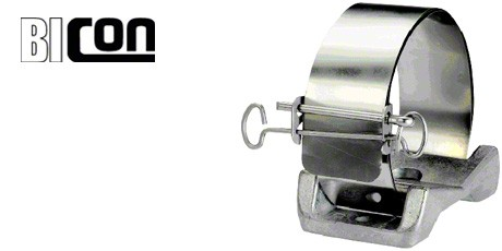 Bicon Cable Cleats, Multicleat Cable Clamps for Single Cables