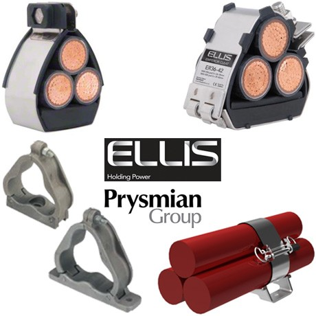 Cable Cleats, Trefoil Cable Cleats and Clamps