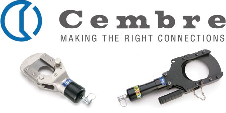 Cembre Hydraulic Cutter Heads for Power and Telecoms Cables