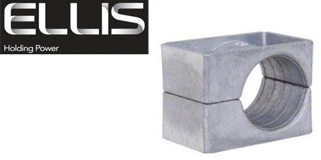 Ellis Patents Cable Cleats - One Hole Cable Cleat (Aluminium) 10-57mm
