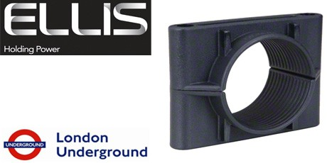 Ellis Patents Cable Cleats - 2 Hole Cable Cleat (LSF, Non-LSF) 38-168mm