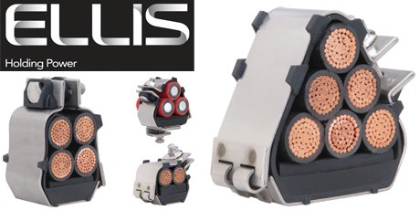 Ellis Cable Cleats - Bespoke Cable Cleats