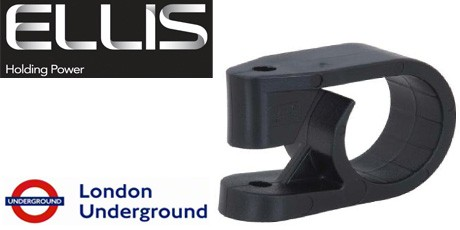 Ellis Patents Cable Cleats - LSF and Non-LSF Single Cable Cleats 10-51mm