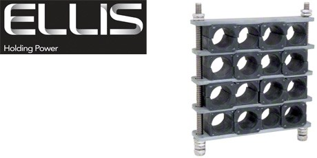 Ellis Patents Cable Cleats - Matrix Cable Cleat for Multiple Single Cables