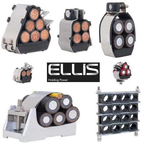 Ellis Patents Cable Cleats for Quad Cables and Multiple Cables - Range Overview