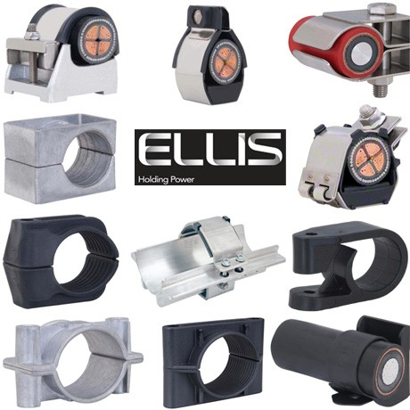 Ellis Patents Cable Cleats for Single Cables - Range Overview