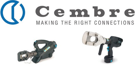 Hydraulic Cable Cutters - Cembre Battery Cutter for Overhead Line Cables