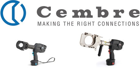 Cembre Cable Cutters - Battery Hydraulic Cutting Tools - Power & Telecoms