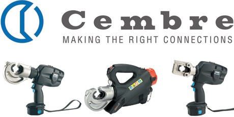 Hydraulic Crimping Tools - Cembre Battery Crimp Tool, Cordless Cable Crimper