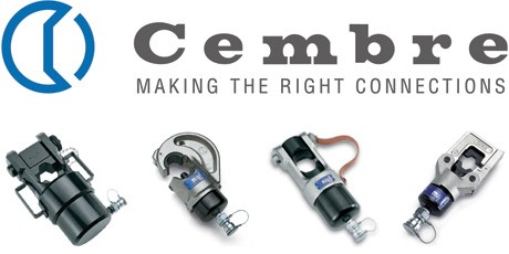 Hydraulic Crimping Tools - Cembre Crimper Head for Power, Overhead Line Cables