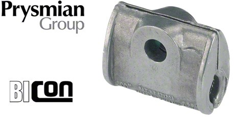 Prysmian FP Cable Cleats, Galvanised Iron Fire Resistant Cable Cleat