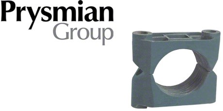 Prysmian Cable Cleats, 2 Bolt Clamps for Single LSOH, LSF Cables