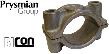 Prysmian FP Cable Cleats, Cast Iron Fire Resistant Cable Cleat