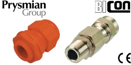 Prysmian FP Cable Glands for FP200, FP400, FP600 Cables