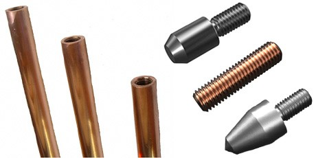 Solid Copper Earth Rods and Accessories